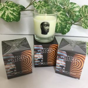 Lorenzo Villoresi Firenze Scented Candles Lot Of 3